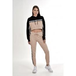 Adidas Cropped Hoodie női pulóver