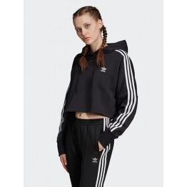 Adidas Cropped Hood női cipzáras pulóver