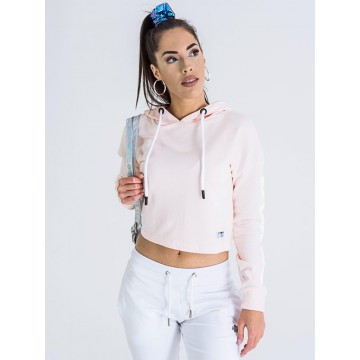 Dorko Sleeve Printed Crop Hoodie Women női kapucnis pulóver