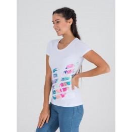 Emporio Armani Train Graphic Series W Tee női póló