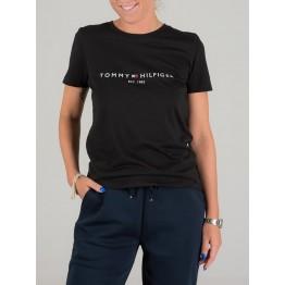 Tommy Hilfiger Heritage Hilfiger C-nk Reg Tee női póló